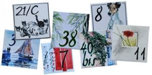 plaques de rue avec num ro ou texte personnalis buzzle. Black Bedroom Furniture Sets. Home Design Ideas
