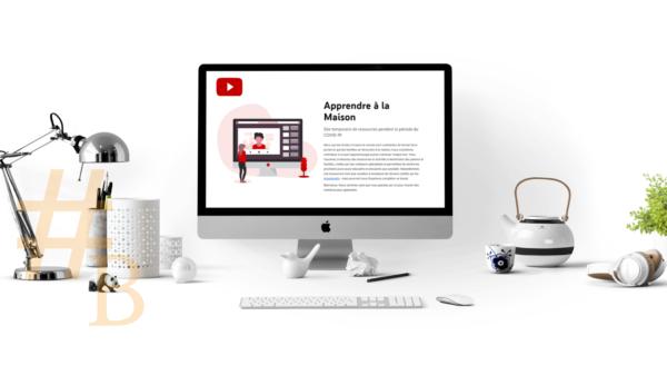 Nouvelle plateforme de Youtube_Apprendre à la maison