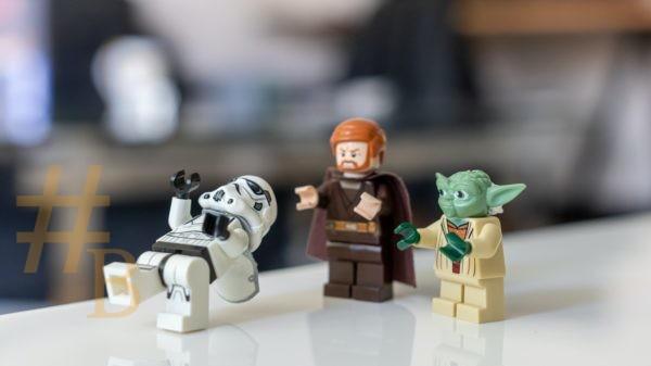 Lego Sar Wars pour parler des parodies à l'occasion du Star Wars Day